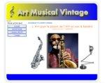 Art et Saxophone Vintage